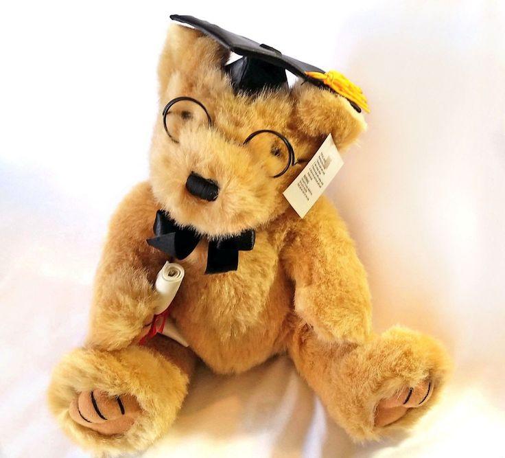 Graduation Teddy Bear Cap Diploma Graduate Plush Dan Dee Collector's Choice | eBay