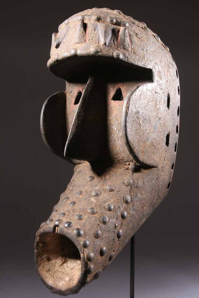 Kran Mask | The Kran are in the southwest region of Côte d'Ivoire and southern…