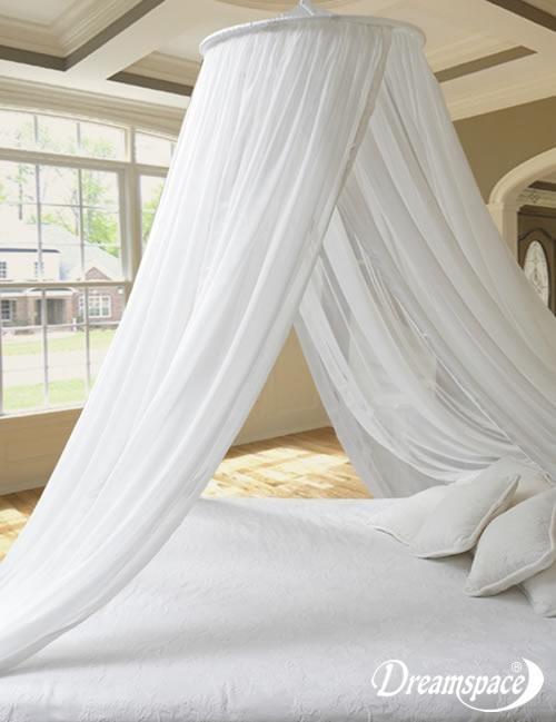Mosquito Net Bed Canopy. SILK. Tropicana (srn-nao)
