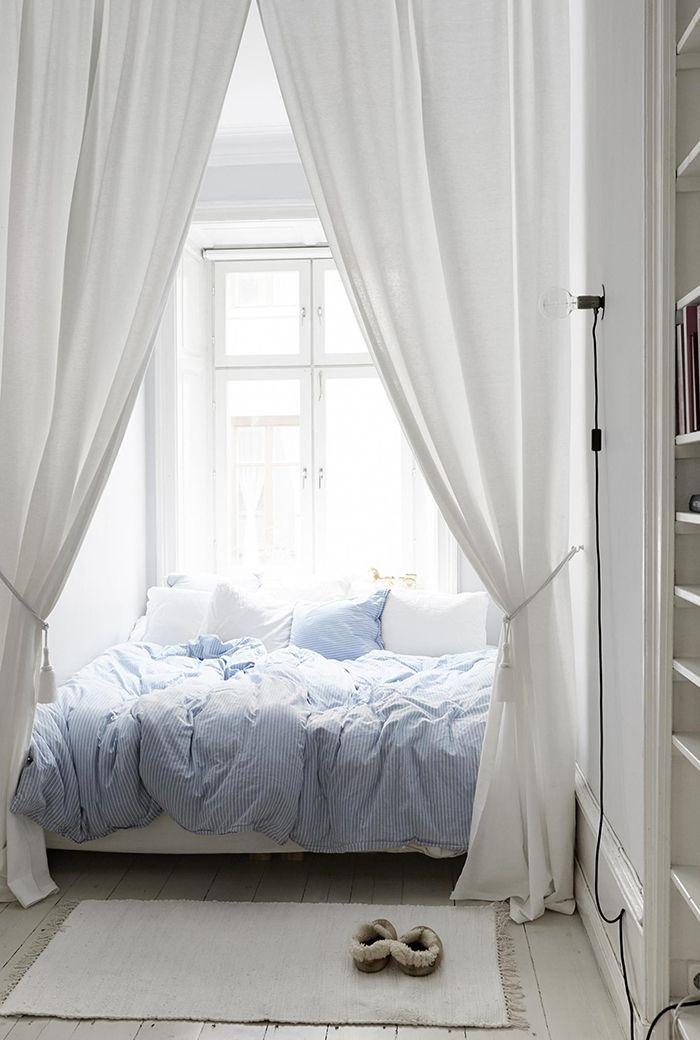 9 sätt att inreda med gardiner i sovrummet | ELLE Decoration