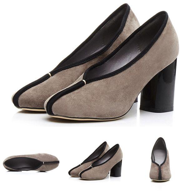 Pumps - Samantha - $91.99 @shoesofexception #trendy #grey #suede #women #pumps