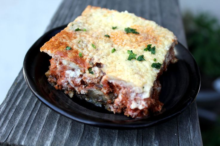 Lamb Moussaka (Greek Lamb, Potato, And Eggplant Casserole ...