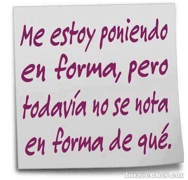 En forma #Jajaja #humor #chorradas