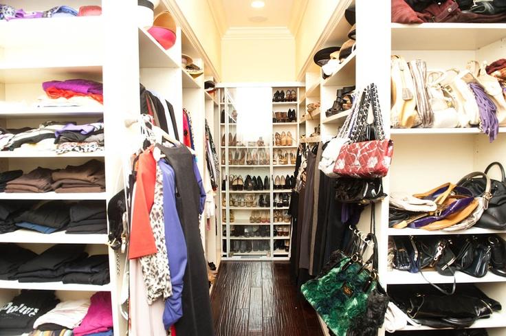 adrienne malouf / coveteur: Closet Design Walks, Real Housewives, Dreams Closet, Closet Envy, Adrienne Maloof, Design Closet, Walks In Closet, Huge Closet, Closet Shelves