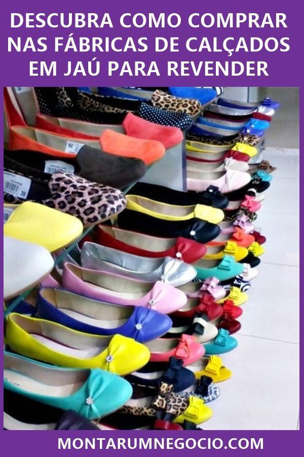 aff8db6c0 Veja como os lojistas estão comprando calçados nas fábricas de Jaú para  revender. Vou lhe