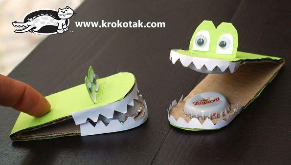 krokodil van papier