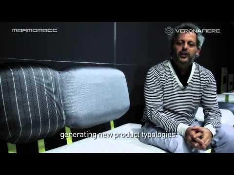 """Gabriele Pardi and Laura Fiaschi for Gumdesign at #Marmomacc Meets #Design 2012 (sub. Eng)  Video intervista a Gabriele Pardi e Laura Fiaschi sul progetto realizzato per Gumdesign  sul tema di Marmomacc Meets Design 2012: """"The colours of green: sustainable stone"""".  Video interview with Gabriele Pardi and Laura Fiaschi for Gumdesign  on the topic of Marmomacc Meets Design 2012: """"The colours of green: sustainable #stone""""."""