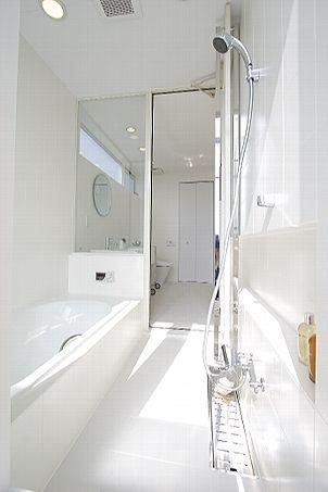 トイレ/バス事例:バスルーム(White cube)