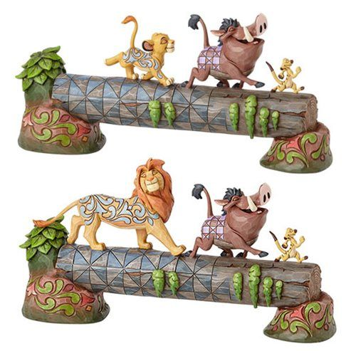 Disney Traditions Lion King Simba Timon and Pumbaa Statue - Enesco - Lion King - Statues at Entertainment Earth