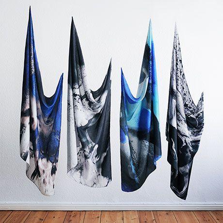 Sumptuous Silk Scarves by Karl und Olaf | MONOQI