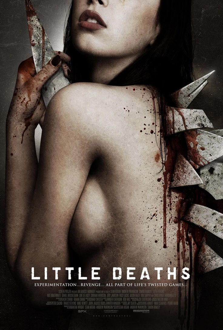 Little Deaths – Τρεις Μικροί Θάνατοι (2011).Το «Little Deaths» αφηγείται τρεις ανεξάρτητες ιστορίες τρόμου που περιστρέφονται γύρω από τον θάνατο, το σεξ και τον σαδισμό.