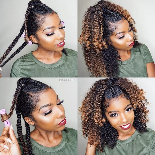 Hairstyles For Natural Hair Prepossessing 2147 Best Hair Love Images On Pinterest  Natural Hair Curls And