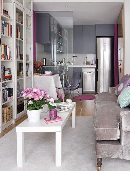 Apartamento pequenino, mas com um decor gigante
