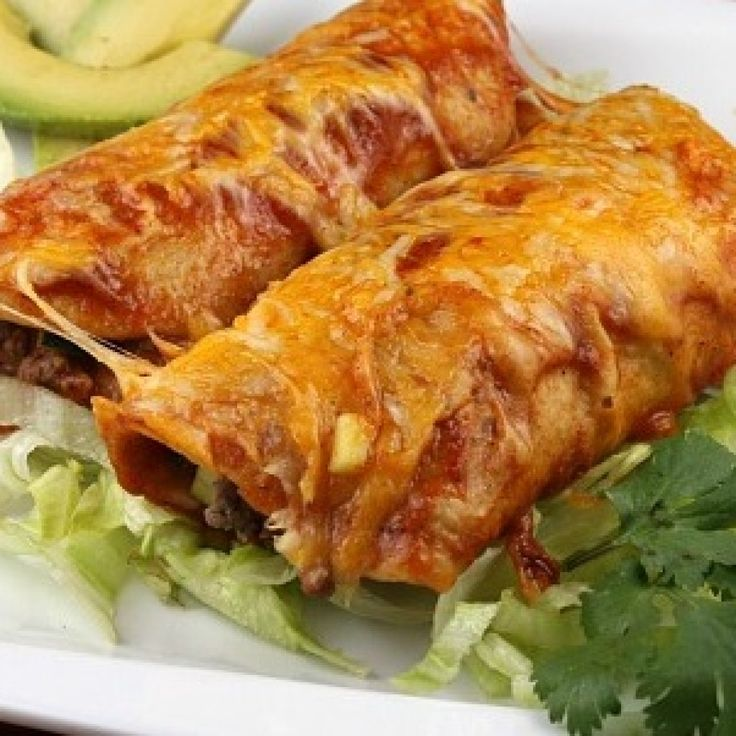 Simple Perfect Beef Enchiladas | Food Recipes Share Here ...
