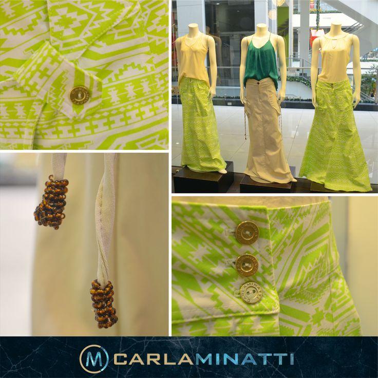 En cada colección nos esforzamos por diseñar nuevos y espectaculares modelos de faldas,
