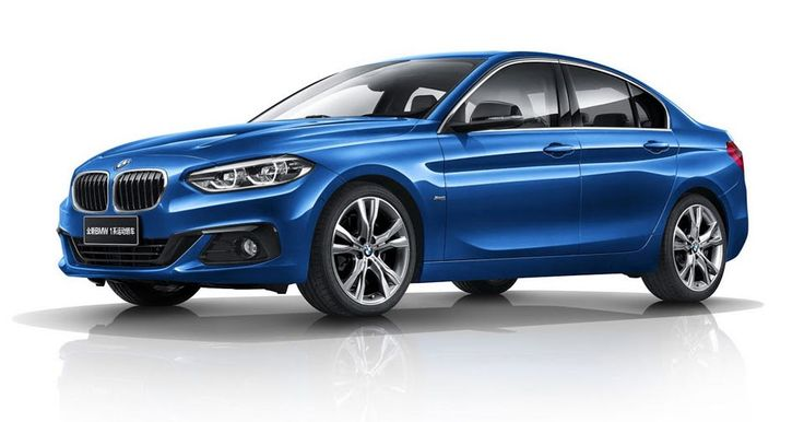 BMW Won't Offer The 1-Series Sedan Outside Of China #BMW #BMW_1_Series