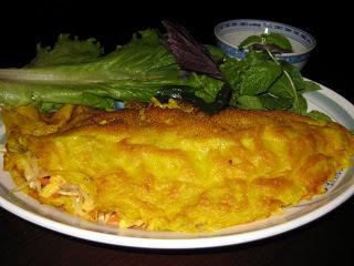 Việt Nam Ăn Chay: Bếp Chay Thanh Nhẹ: Bánh xèo chay - Vietnamese Vegan Savory Crepe (Hy Vọng)