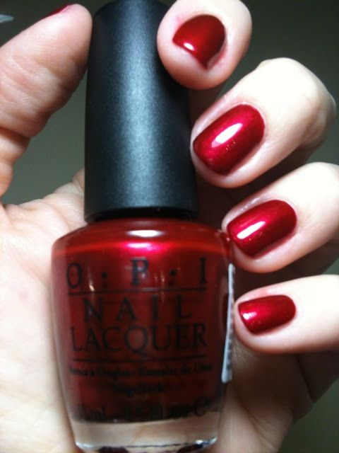 OPI  I'm Not Really A Waitress, my all time favorite polish!