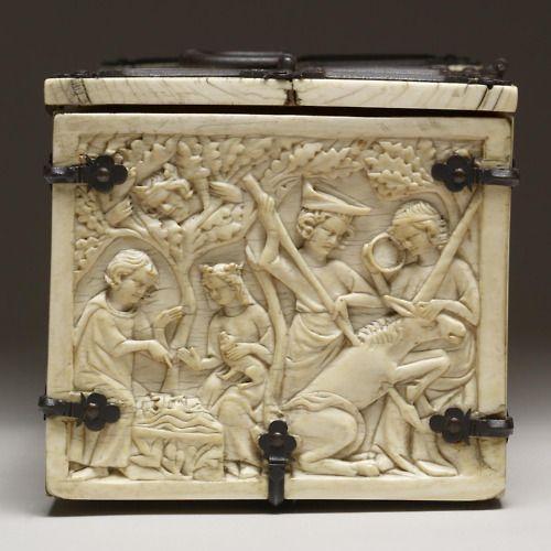 Ivory box, France