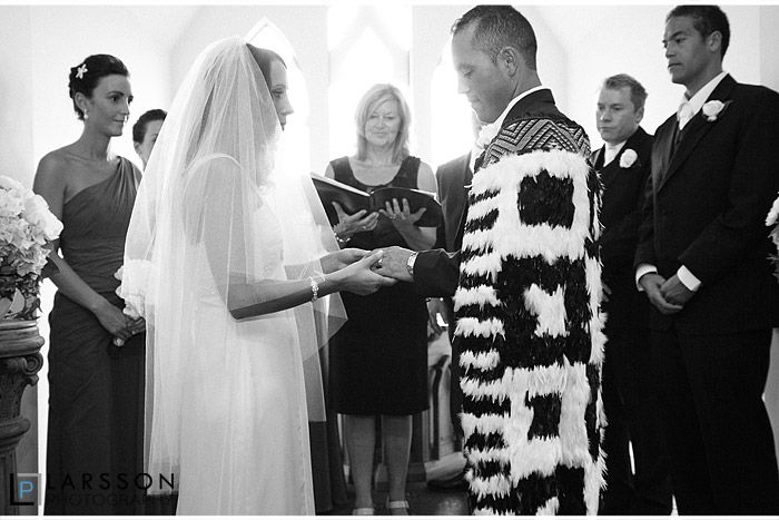 Larsson Photography : The ceremony was in the chapel at Stoneridge Estate with Phillipa Cook as the celebrant.