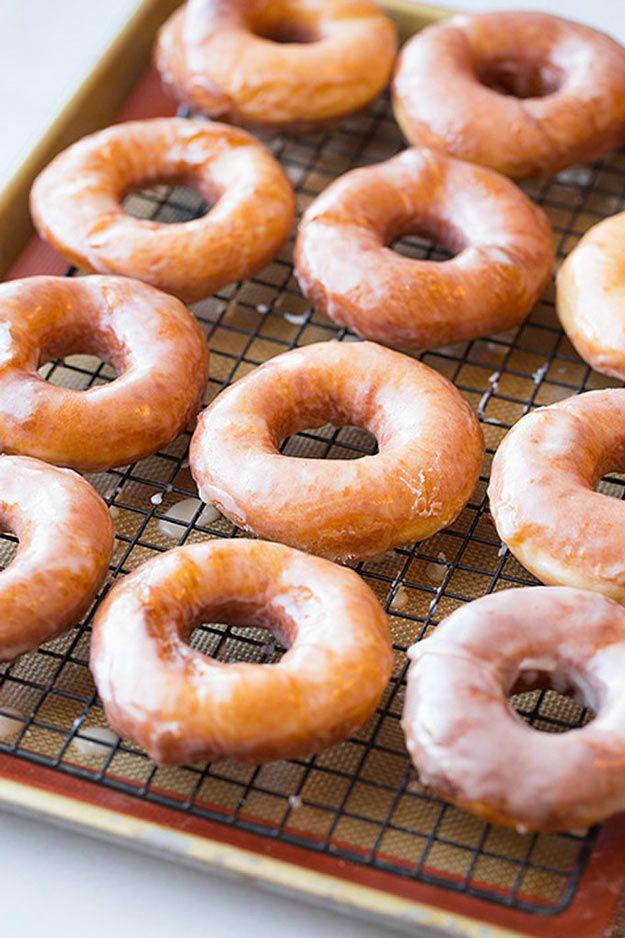 Copycat Recipes Krispy Kreme Glazed Doughnuts | Copycat Recipes From Top Restaurants. Best Recipe Knockoffs from Cinabbon, Cracker Barrel, Taco Bell, Cheesecake Factory, KFC, Mc Donalds, Red Lobster, Panda Express  | Krispy Kreme Glazed Doughnuts http://diyjoy.com/copycat-recipes