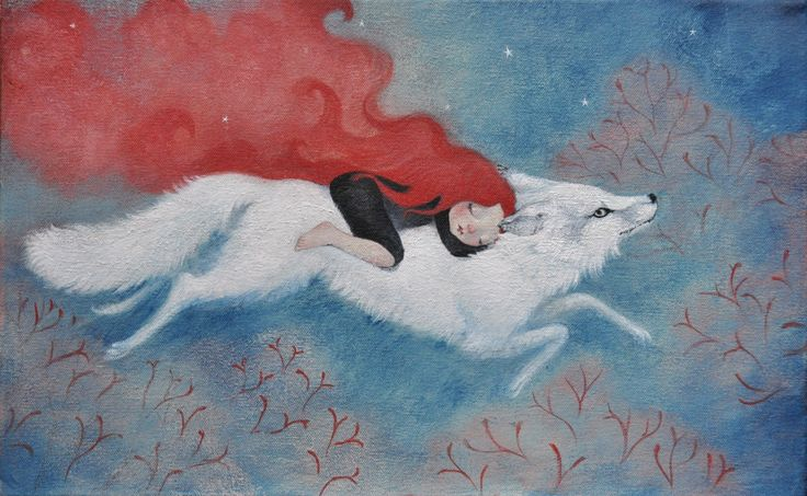 Wild dreaming...Artist Lucy Campbell