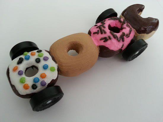 AHG Pinewood Derby: Donut Pinewood Derby Car