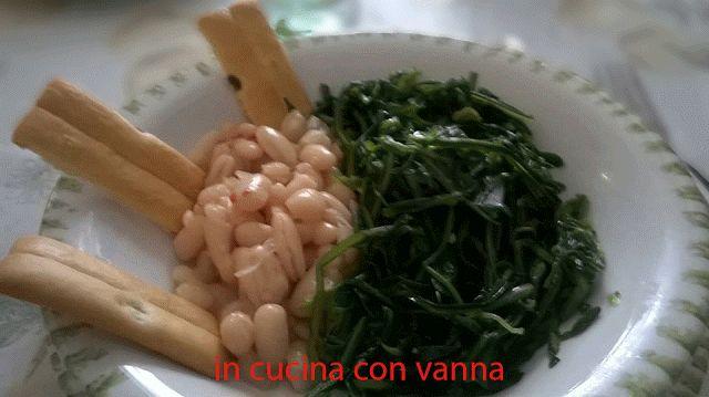 in cucina con vanna: Cicorie e fagioli