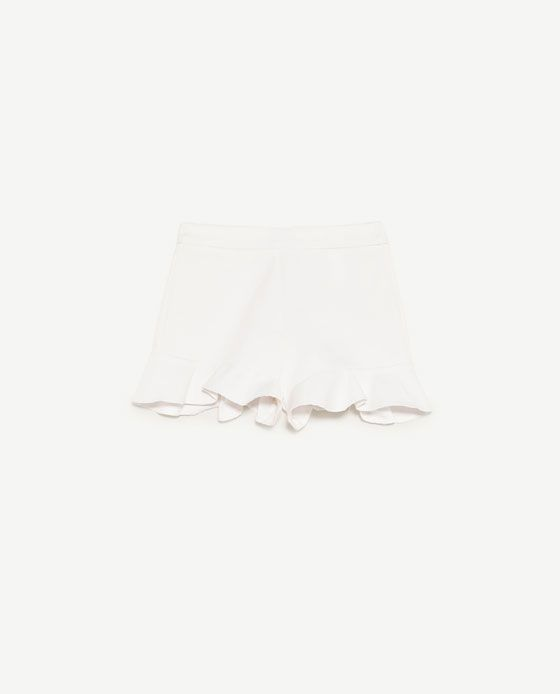 Image 6 of HIGH WAISTED SHORTS from Zara