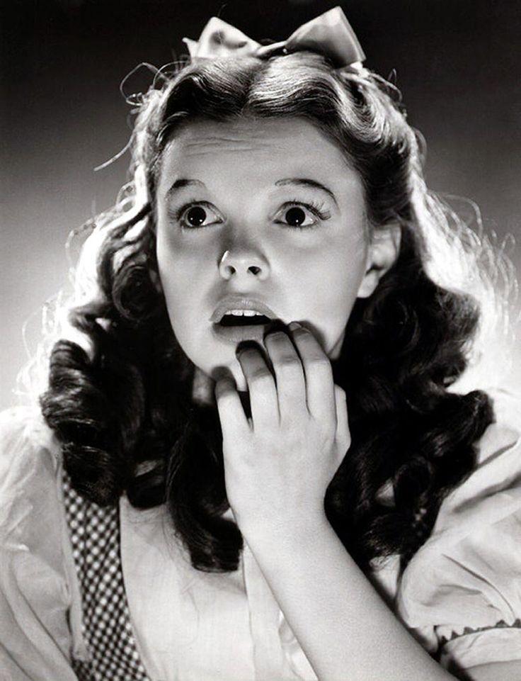 """Judy Garland para """"El Mago de Oz"""" (The Wizard of Oz), 1939"""