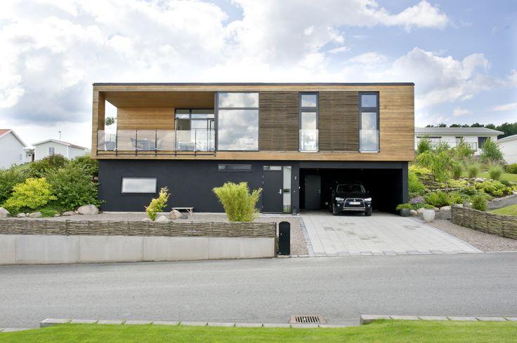 ONV-Bolig, danskt design hus från Willa Nordic #arkitektritat #danskdesign #willanordic
