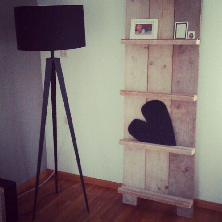 Bij mij thuis...pronkrek steigerhout