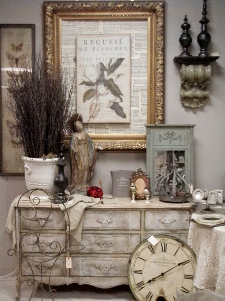 Best 25 vintage french decor ideas on pinterest french for Antique home decorations