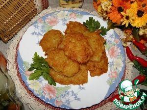 """Рецепт: Картофельные драники """"Две стороны"""""""