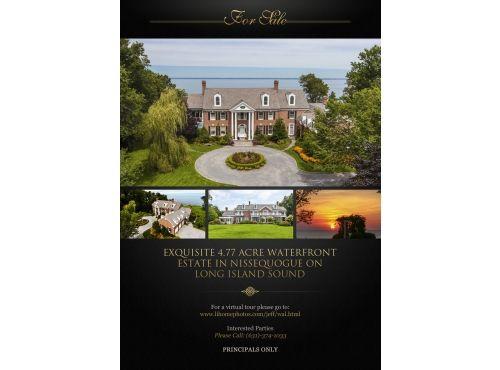 luxurious-print-ad-waterfront-estate-york-postcard-flyer-design ...