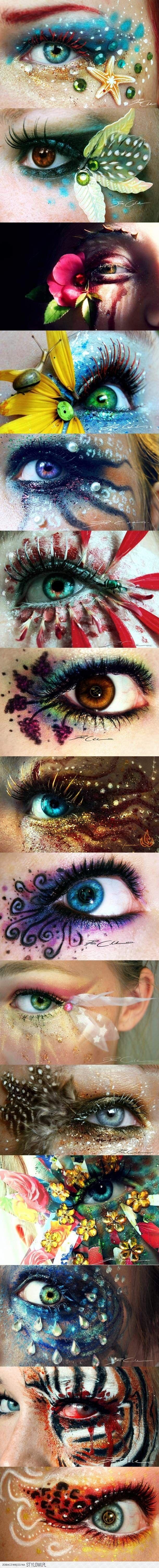 Incredible eye makeup art #WinWayneGossTheCollection
