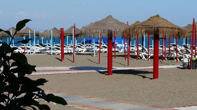 Beach in Torremolinos