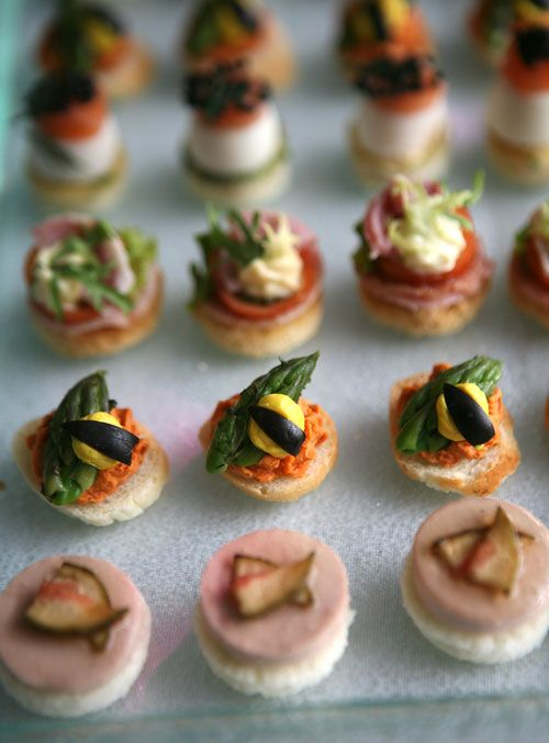 Canapes appetizers sweet savory pinterest for Canape suggestions