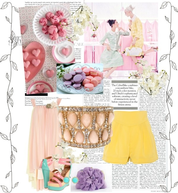 """""""❦ Pastels ❦"""" by alicia-king on Polyvore"""