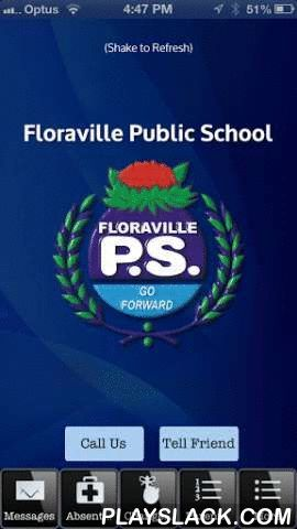 Floraville Public School  Android App - playslack.com , Our school mobile app is custom built to serve the needs of our school community, by improving communication between the school and our families. Removing the need for paper sick notes and school newsletters. This two way communication app means parents and the school staff can always be better prepared for the day ahead. Which is of course in the best interest of our children. Great care has been taken to provide a valuable service to…