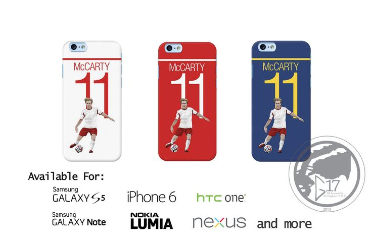Dax McCarty 11 Hard Phone Case - New York Red Bulls iPhone Case,  Soccer Nexus Phone Case NY Red Bulls galaxy case MLS Phone Case by Graphics17 on Etsy