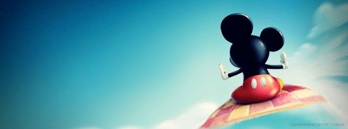 Capa para Facebook do Mickey