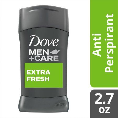 Dove Men+Care Extra Fresh Antiperspirant Deodorant, 2.7 oz, Multicolor