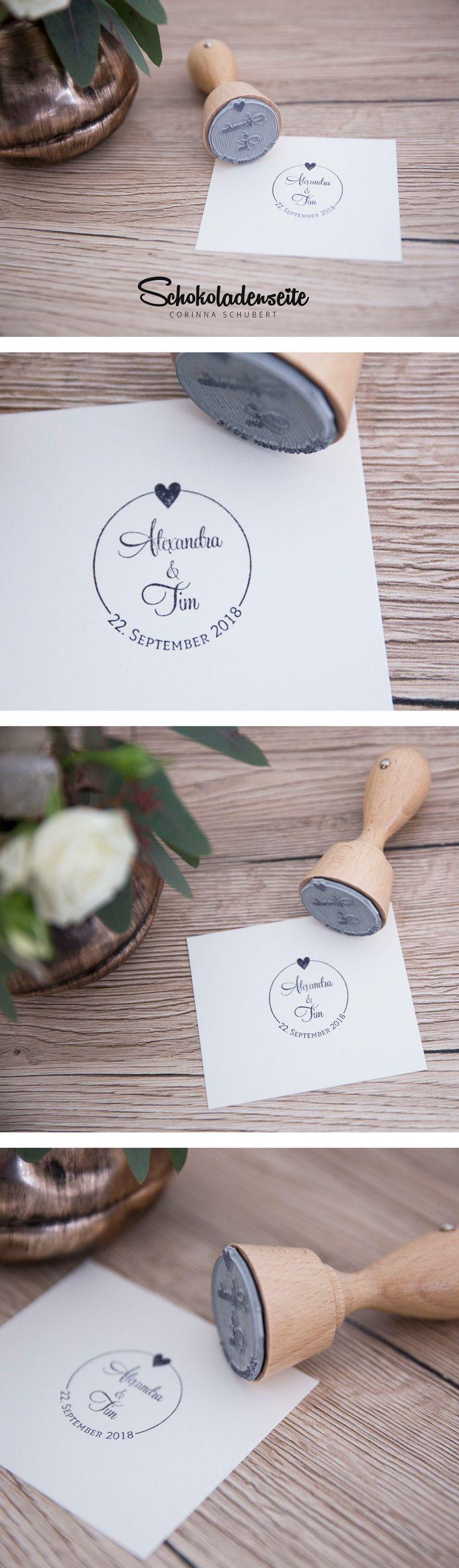 Unsere Hochzeitslogos sind der Begleiter für Eure Liebe. In vielen verschiedenen Designs und zum Teil auch mit der Option einen Stempel daraus fertigen zu lassen. #hochzeit #love #logo #hochzeit #weddingbrand