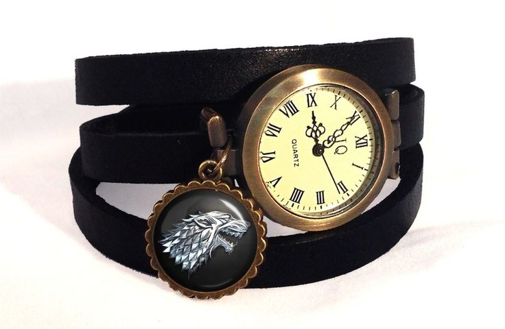 Leather watch bracelet Game of Thrones, 0251WB from EgginEgg by DaWanda.com
