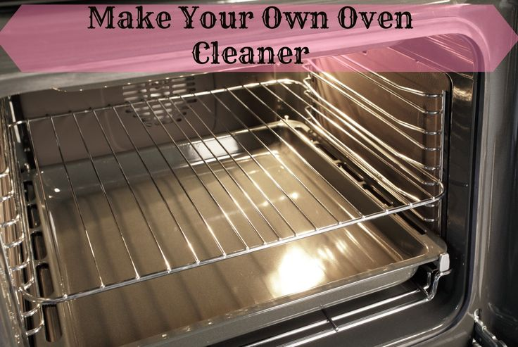 Make Your Own Oven Cleaner #diy