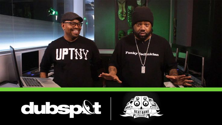 The Beat Bang Theory EP 01 - Lord Finesse @ Dubspot! Sampling Vinyl, MPC...
