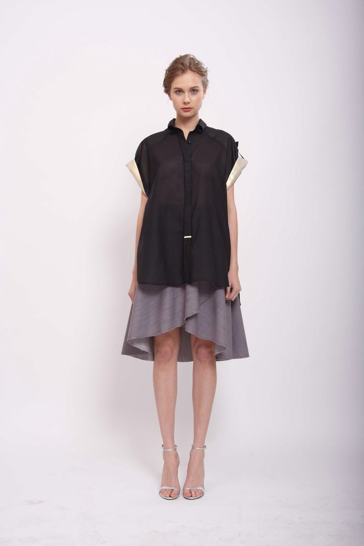 SHIRT WITH SHORT SLEEVES, LEEDA