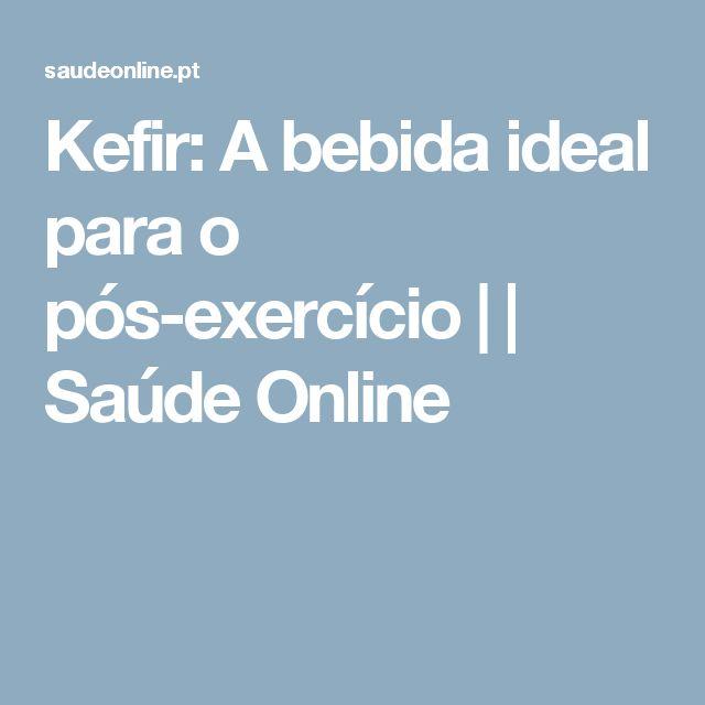 Kefir: A bebida ideal para o pós-exercício | | Saúde Online