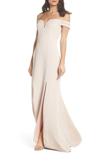e0e996bc Xscape Off the Shoulder Trumpet Gown in 2019   Most Stylish Formal ...